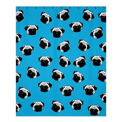 Pug Dog Pattern Shower Curtain 60  X 72  (medium)  by Valentinaart