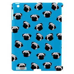 Pug Dog Pattern Apple Ipad 3/4 Hardshell Case (compatible With Smart Cover) by Valentinaart