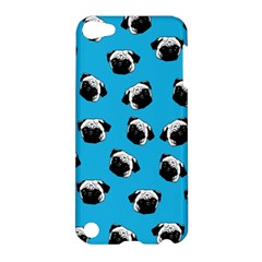 Pug Dog Pattern Apple Ipod Touch 5 Hardshell Case by Valentinaart