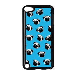 Pug Dog Pattern Apple Ipod Touch 5 Case (black) by Valentinaart