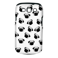Pug Dog Pattern Samsung Galaxy S Iii Classic Hardshell Case (pc+silicone) by Valentinaart