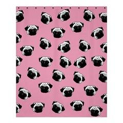 Pug Dog Pattern Shower Curtain 60  X 72  (medium)  by Valentinaart