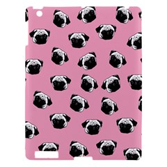Pug Dog Pattern Apple Ipad 3/4 Hardshell Case by Valentinaart