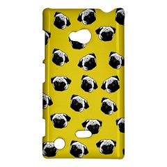 Pug Dog Pattern Nokia Lumia 720 by Valentinaart