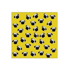 Pug Dog Pattern Satin Bandana Scarf by Valentinaart