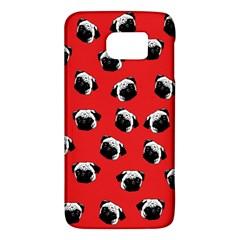 Pug Dog Pattern Galaxy S6 by Valentinaart