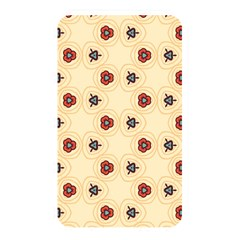 Orange Flowers Pattern         Memory Card Reader (rectangular) by LalyLauraFLM