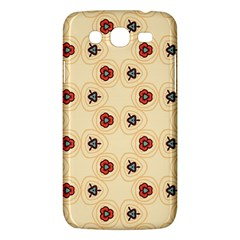 Orange flowers pattern   Samsung Galaxy Duos I8262 Hardshell Case by LalyLauraFLM