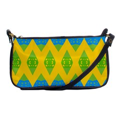 Rhombus Pattern           Shoulder Clutch Bag by LalyLauraFLM