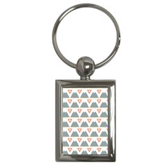 Triangles And Other Shapes           Key Chain (rectangle) by LalyLauraFLM