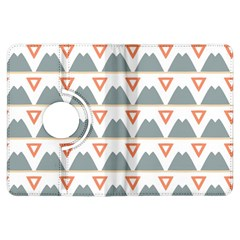 Triangles and other shapes     Kindle Fire HD (2013) Flip 360 Case by LalyLauraFLM