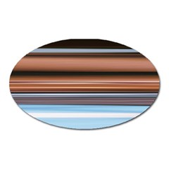 Color Screen Grinding Oval Magnet by Nexatart