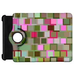 Color Square Tiles Random Effect Kindle Fire Hd 7  by Nexatart