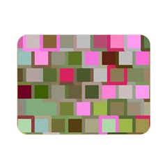 Color Square Tiles Random Effect Double Sided Flano Blanket (mini)  by Nexatart