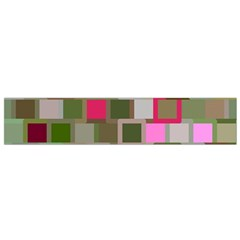 Color Square Tiles Random Effect Flano Scarf (small) by Nexatart