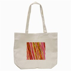 Color Ribbons Background Wallpaper Tote Bag (cream) by Nexatart