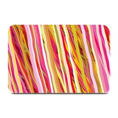 Color Ribbons Background Wallpaper Plate Mats by Nexatart