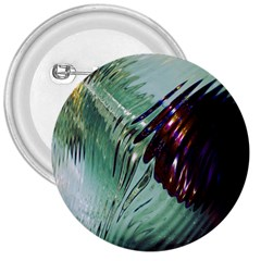 Out Of Time Glass Pearl Flowag 3  Buttons by Nexatart