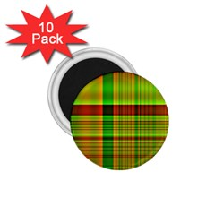 Multicoloured Background Pattern 1 75  Magnets (10 Pack)  by Nexatart