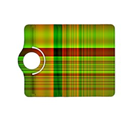 Multicoloured Background Pattern Kindle Fire Hd (2013) Flip 360 Case by Nexatart