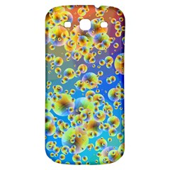 Color Particle Background Samsung Galaxy S3 S Iii Classic Hardshell Back Case by Nexatart