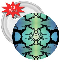 Branches With Diffuse Colour Background 3  Buttons (10 Pack)  by Nexatart