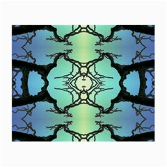 Branches With Diffuse Colour Background Small Glasses Cloth by Nexatart