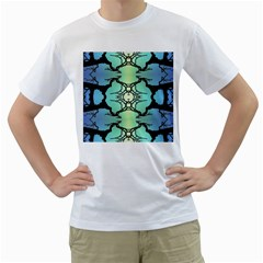 Branches With Diffuse Colour Background Men s T Shirt (white)  by Nexatart