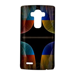 Black Cross With Color Map Fractal Image Of Black Cross With Color Map Lg G4 Hardshell Case by Nexatart