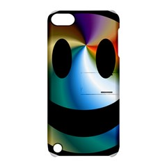 Simple Smiley In Color Apple iPod Touch 5 Hardshell Case with Stand by Nexatart