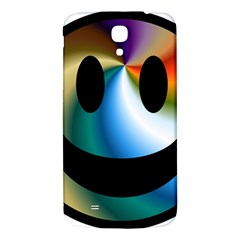 Simple Smiley In Color Samsung Galaxy Mega I9200 Hardshell Back Case by Nexatart