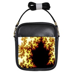 A Fractal Image Girls Sling Bags by Nexatart
