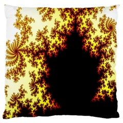 A Fractal Image Large Flano Cushion Case (two Sides) by Nexatart