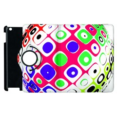Color Ball Sphere With Color Dots Apple Ipad 3/4 Flip 360 Case by Nexatart