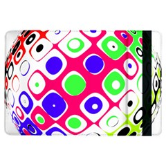 Color Ball Sphere With Color Dots Ipad Air Flip by Nexatart