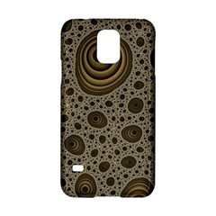 White Vintage Frame With Sepia Targets Samsung Galaxy S5 Hardshell Case  by Nexatart