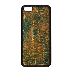Black And Yellow Color Apple Iphone 5c Seamless Case (black) by Nexatart