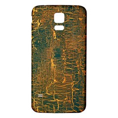 Black And Yellow Color Samsung Galaxy S5 Back Case (white) by Nexatart