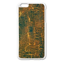 Black And Yellow Color Apple Iphone 6 Plus/6s Plus Enamel White Case by Nexatart