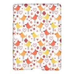 Happy Birds Seamless Pattern Animal Birds Pattern Samsung Galaxy Tab S (10 5 ) Hardshell Case  by Nexatart