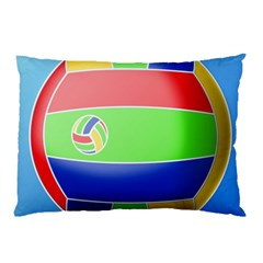 Balloon Volleyball Ball Sport Pillow Case (two Sides) by Nexatart
