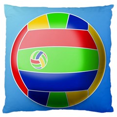 Balloon Volleyball Ball Sport Standard Flano Cushion Case (one Side) by Nexatart