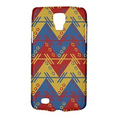 Aztec South American Pattern Zig Zag Galaxy S4 Active by Nexatart