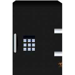 Safe Vault Strong Box Lock Safety 5 5  X 8 5  Notebooks by Nexatart