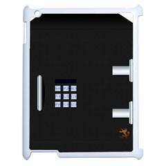 Safe Vault Strong Box Lock Safety Apple Ipad 2 Case (white) by Nexatart