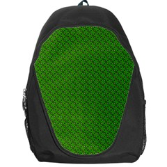 Paper Pattern Green Scrapbooking Backpack Bag by Nexatart