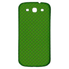 Paper Pattern Green Scrapbooking Samsung Galaxy S3 S Iii Classic Hardshell Back Case by Nexatart