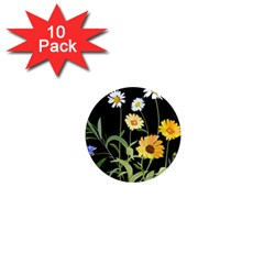 Flowers Of The Field 1  Mini Magnet (10 Pack)  by Nexatart