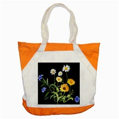 Flowers Of The Field Accent Tote Bag by Nexatart
