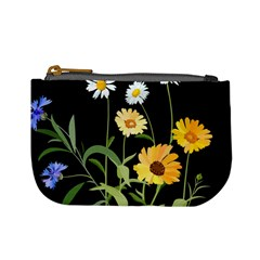 Flowers Of The Field Mini Coin Purses by Nexatart